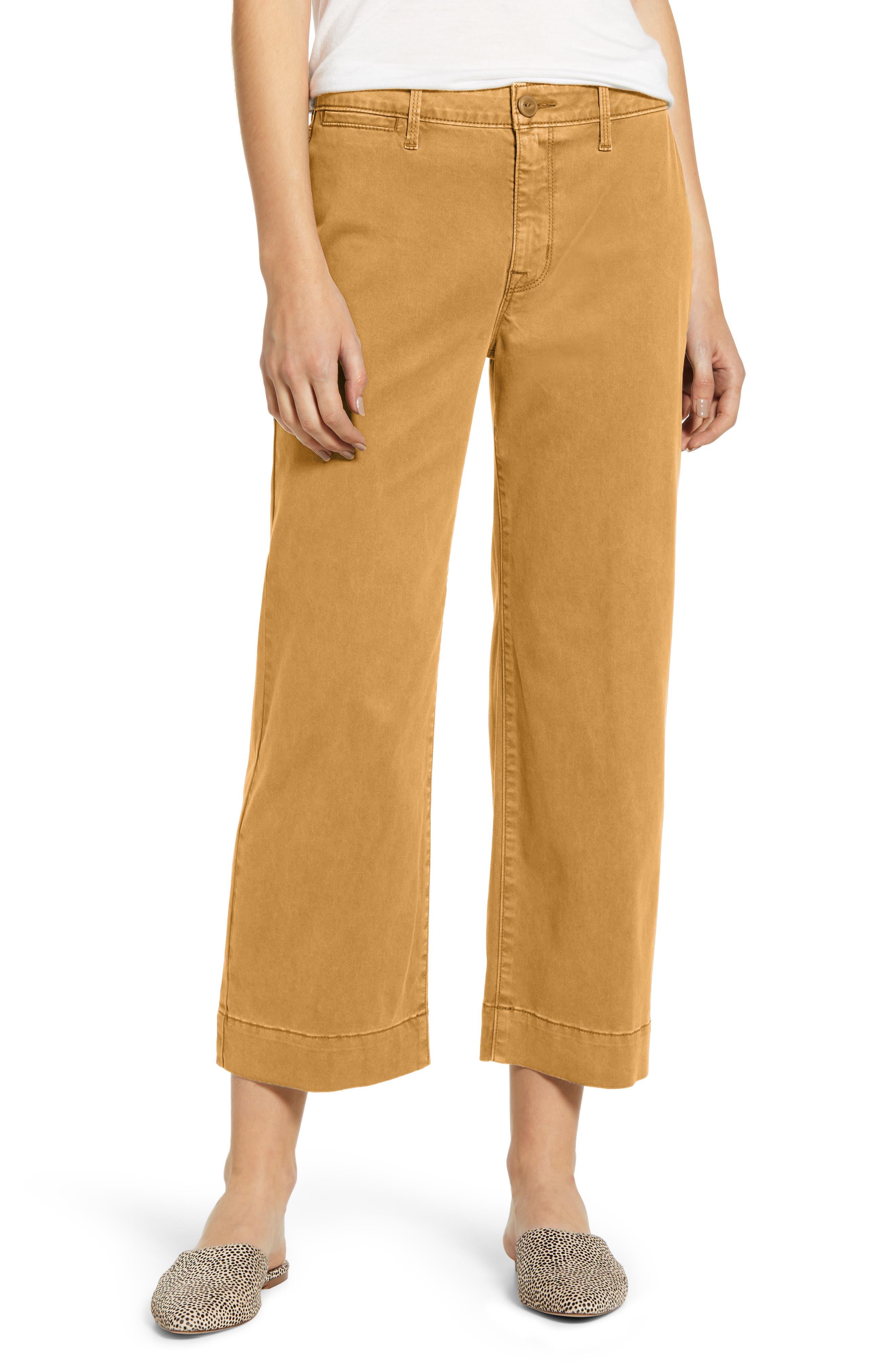 Sanctuary Wide Leg Cropped Pants