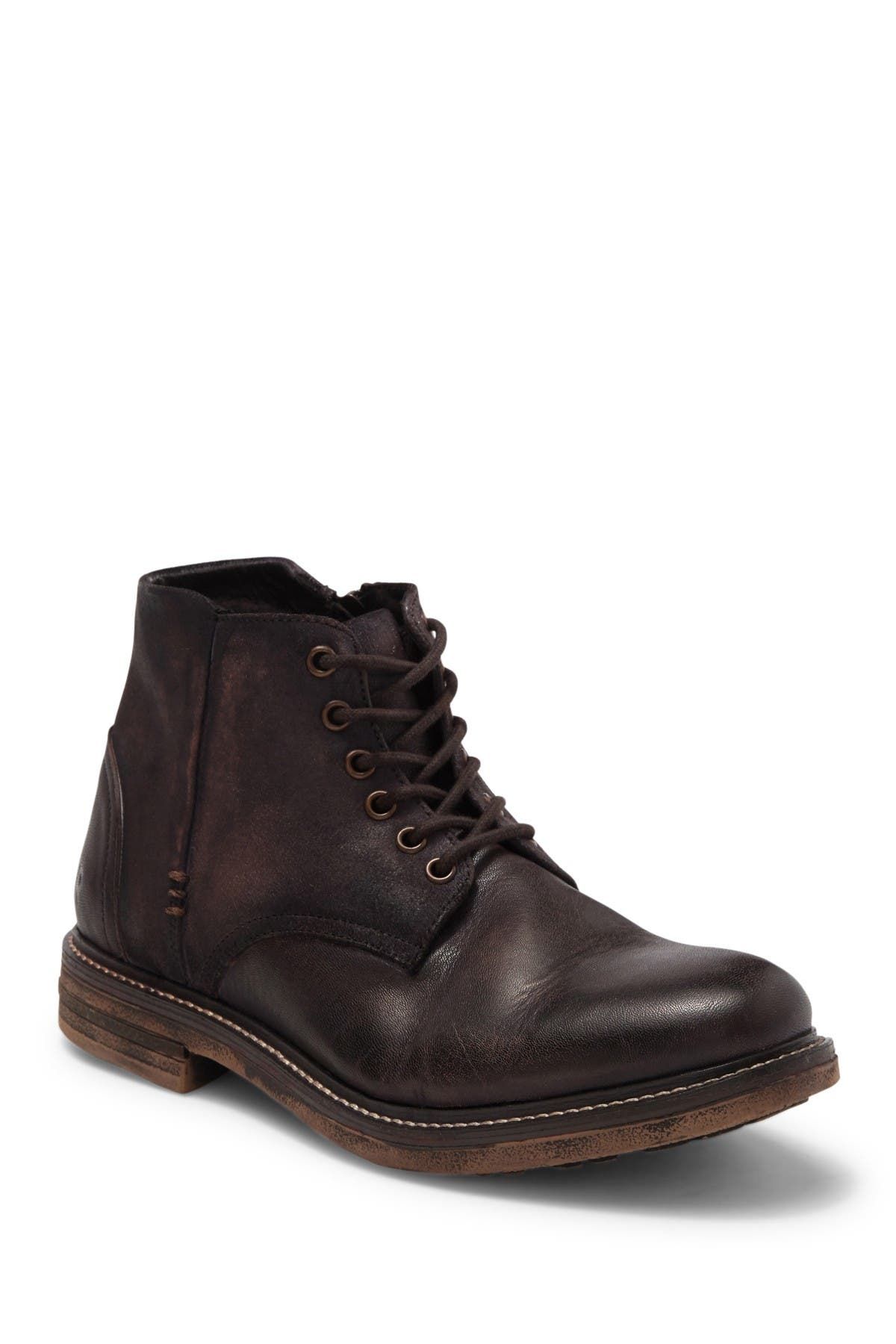 Image of Roan Will Leather Combat Boot