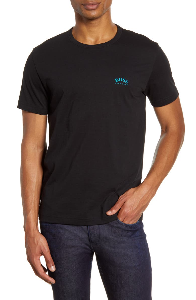 BOSS Curved Logo T-Shirt, Main, color, 003