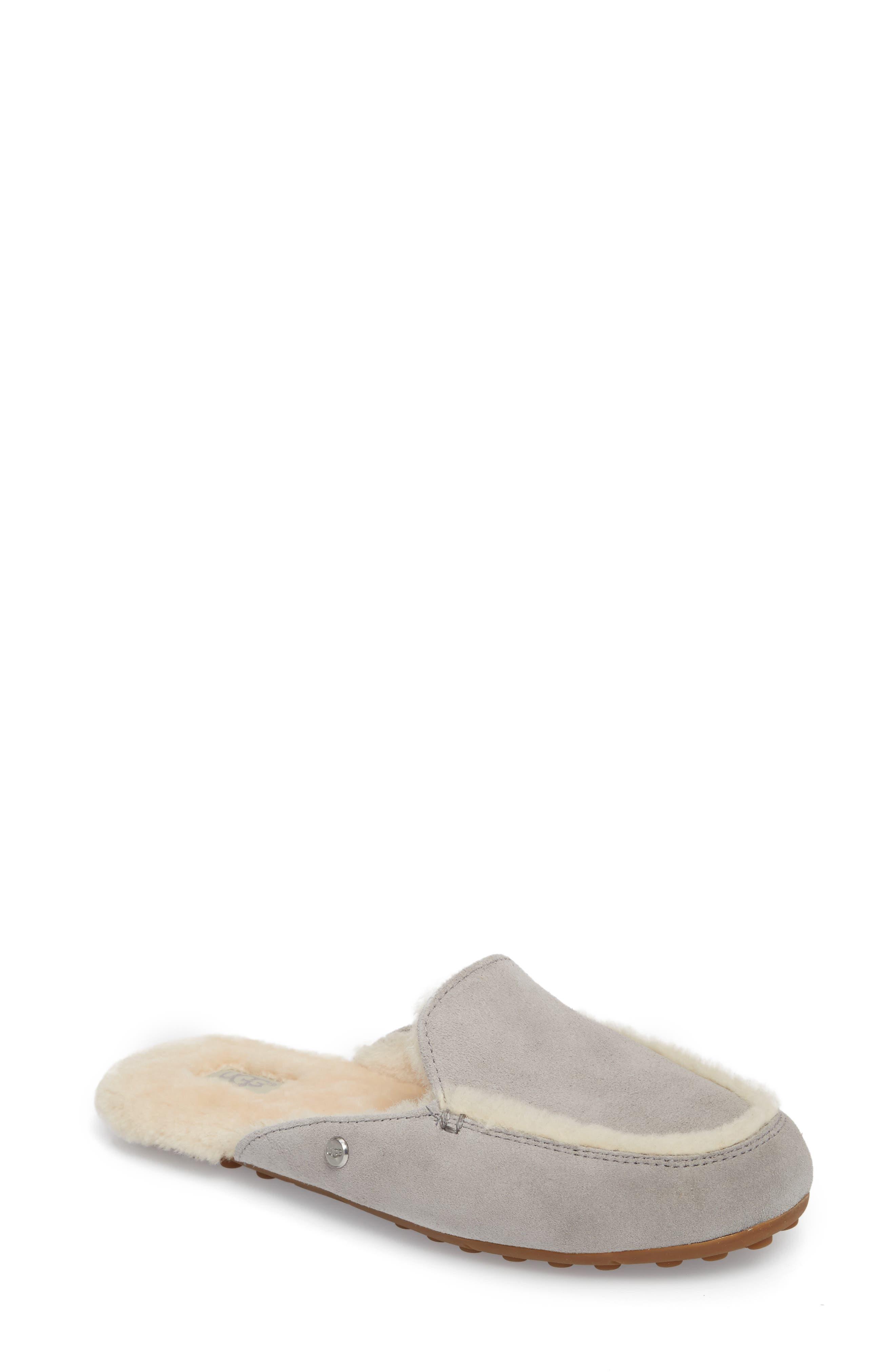 Ugg Lane Genuine Shearling Slipper, Grey
