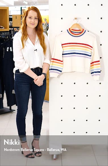 Over the Rainbow Stripe Sweater, sales video thumbnail