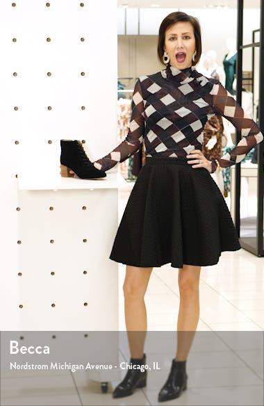 The Emilia Lace-Up Bootie, sales video thumbnail