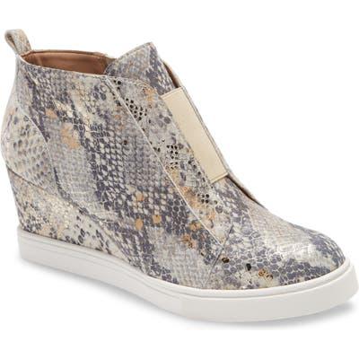 Linea Paolo Felicia Iii Wedge Sneaker- Brown