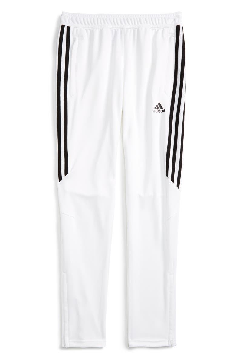 ADIDAS ORIGINALS Tiro 17 Training Pants, Main, color, WHITE/ BLACK
