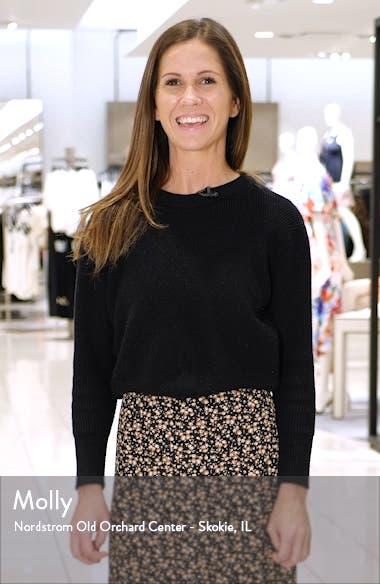 Josephine Long Sleeve Cotton Minidress, sales video thumbnail