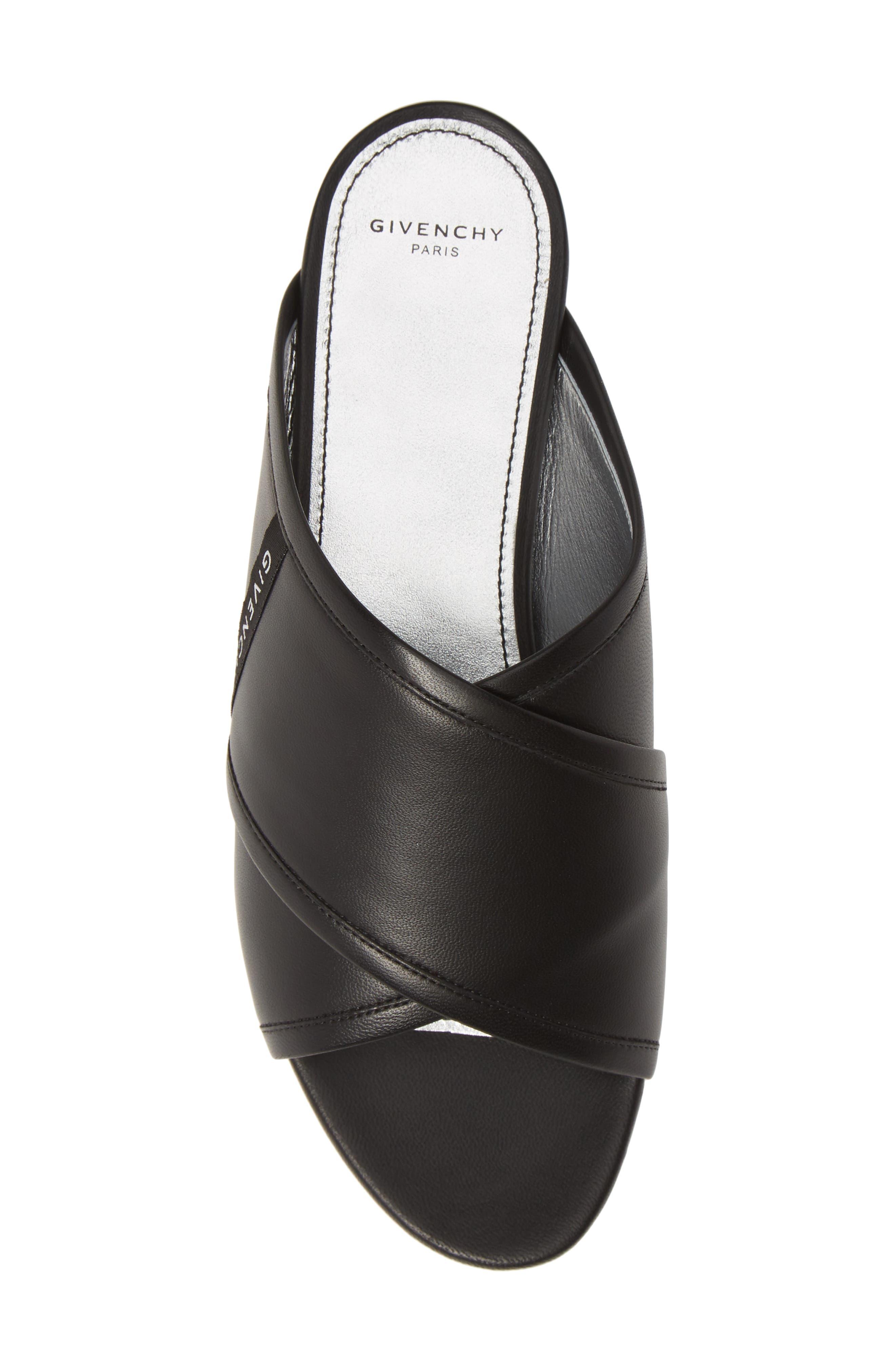 ,                             Rivington Crisscross Sandal,                             Alternate thumbnail 5, color,                             BLACK