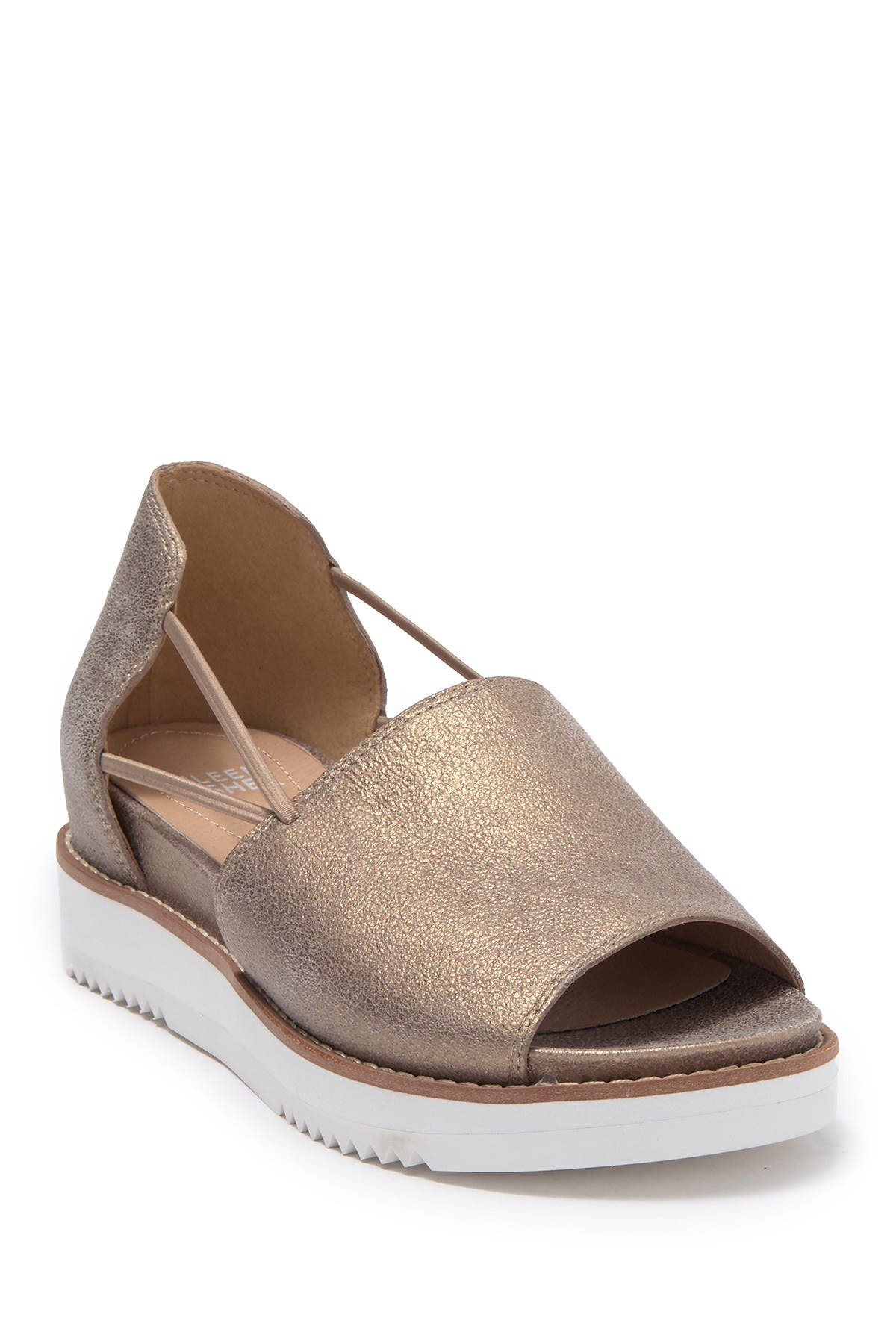 Image of Eileen Fisher Ken Metallic Leather Sandal