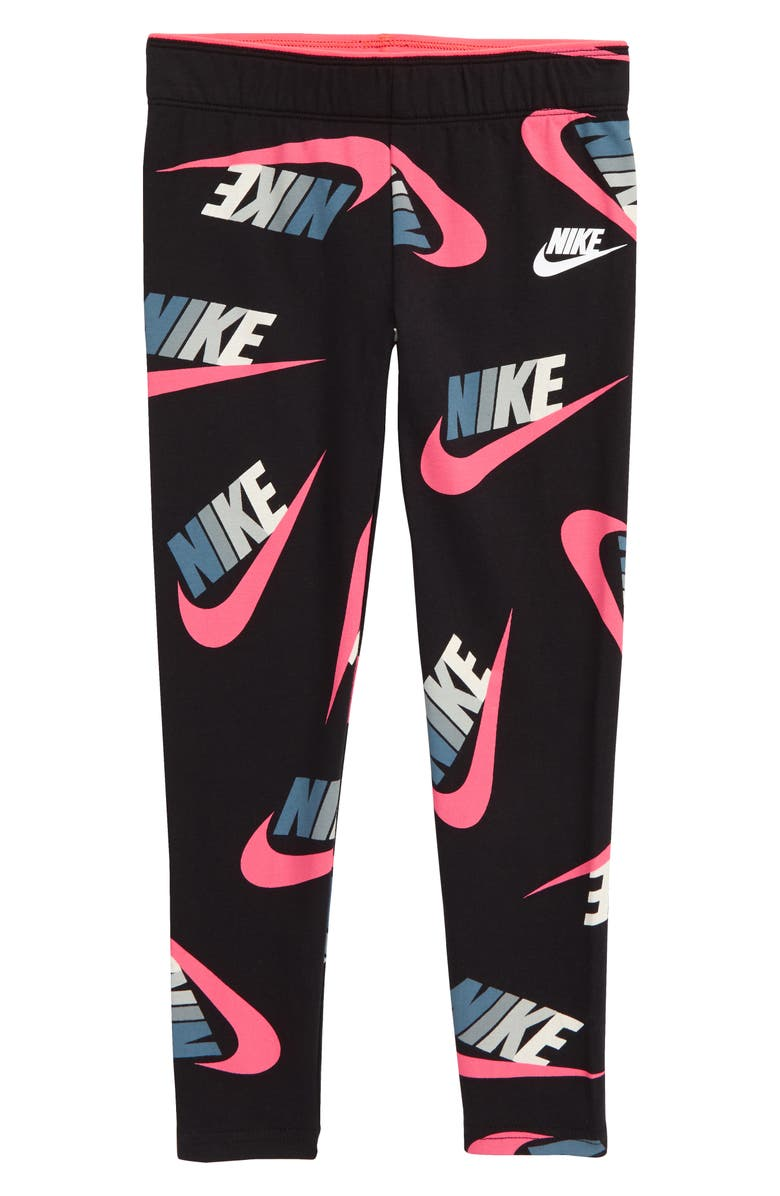 NIKE Sportswear Futura Graphic Leggings, Main, color, 019