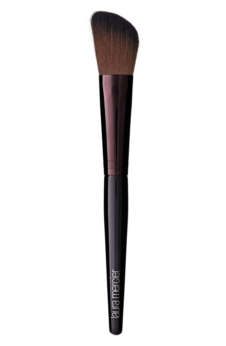 LAURA MERCIER Angled Cheek Contour Brush, Main, color, NO COLOR