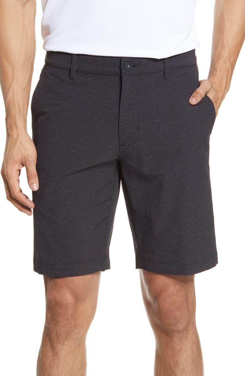 TOMMY BAHAMA Chip Shot Shorts, Main, color, BLACK