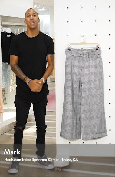 Dexter Glen Plaid Crop Wide Leg Pants, sales video thumbnail