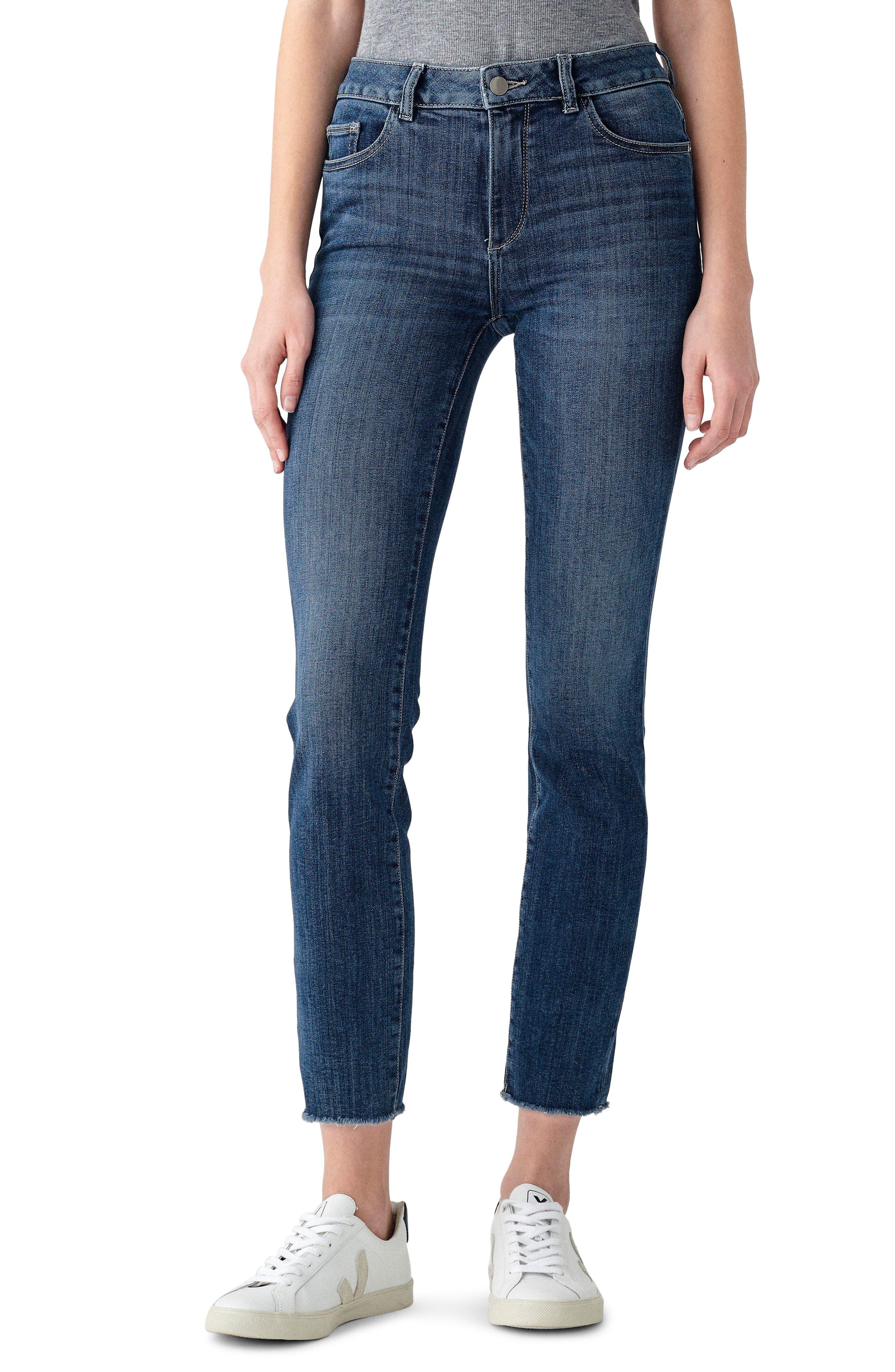 1961 Mara Instasculpt Ankle Straight Leg Jeans