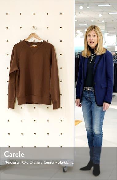 Garment Dyed Crewneck Sweatshirt, sales video thumbnail