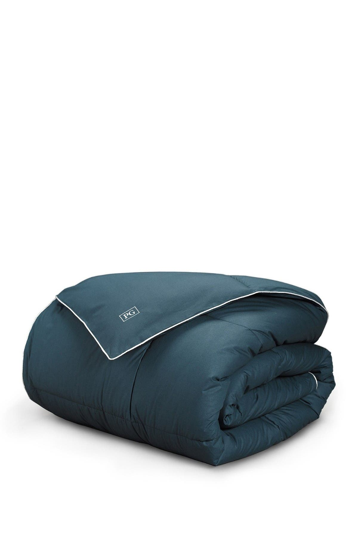 Image of Pillow Guy Navy/Teal All Season Down Alternative Comforter