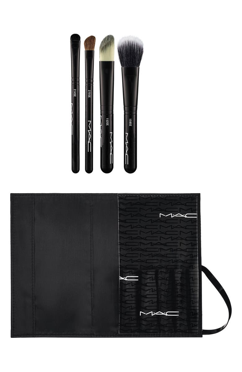 MAC COSMETICS M·A·C 'Look in a Box - Advanced Brush' Kit, Main, color, 000