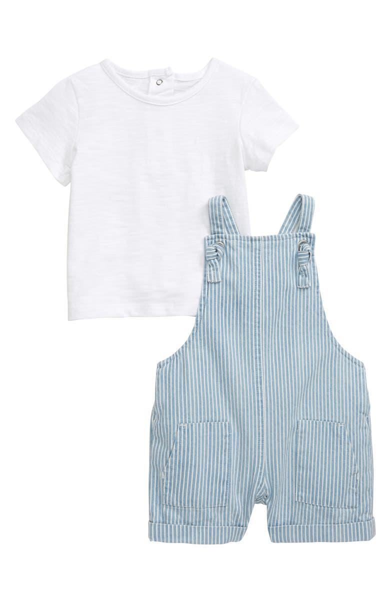 LITTLE ME T-Shirt & Romper Set, Main, color, 457