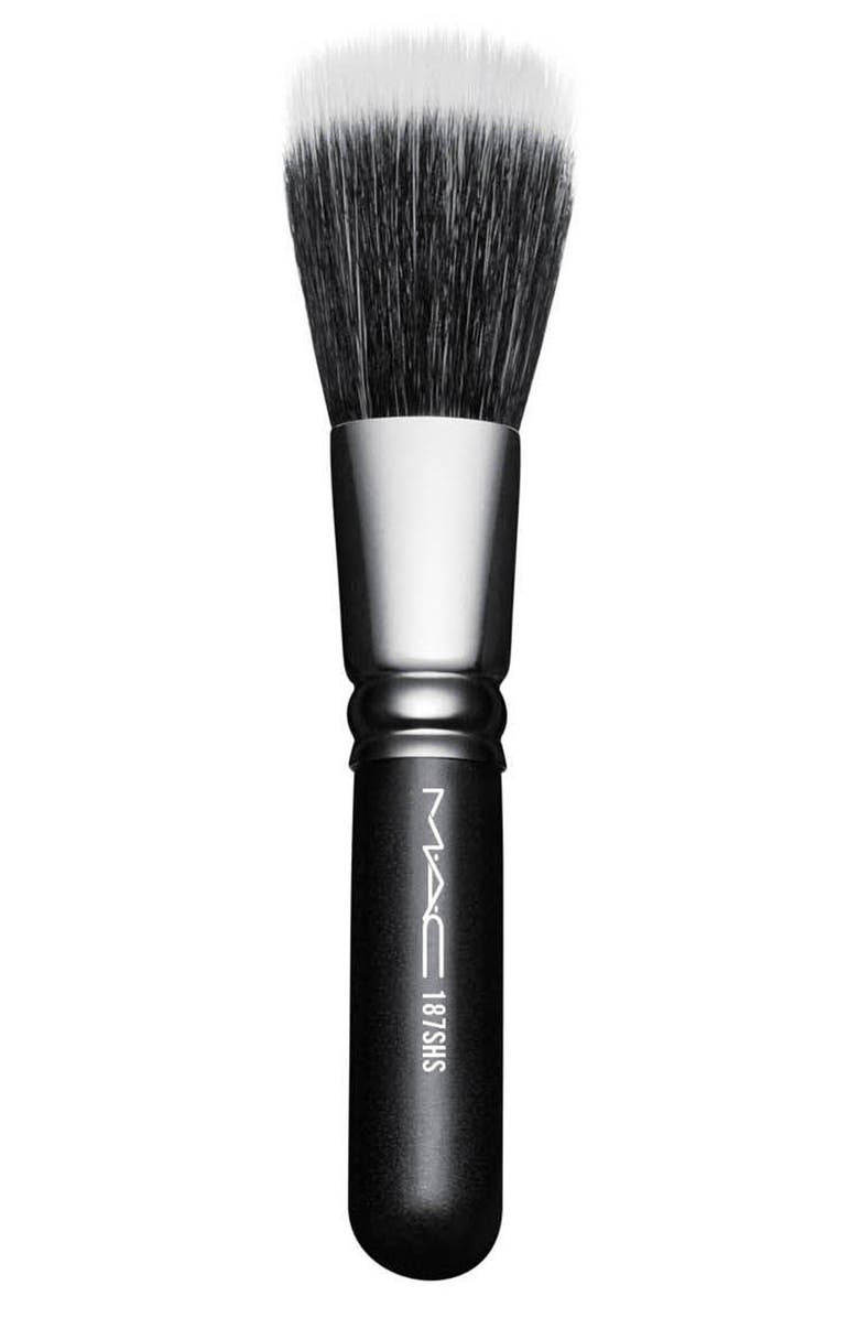 MAC COSMETICS MAC 187SH Duo Fibre Face Brush, Main, color, NO COLOR