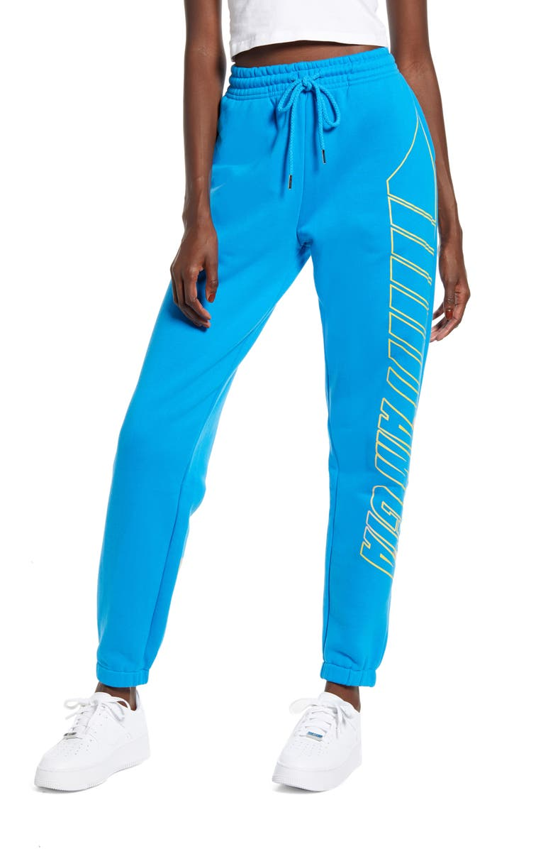 I.AM.GIA Taja Track Pants, Main, color, BLUE