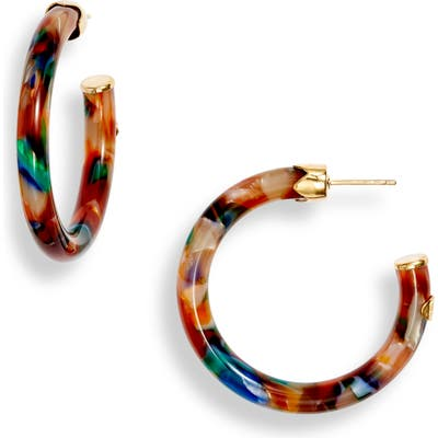 Gas Bijoux Small Caftan Hoop Earrings