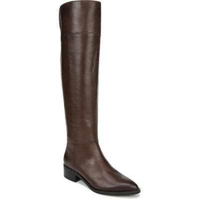 Franco Sarto Daya Knee High Boot, Wide Calf- Brown