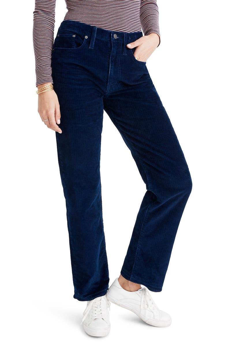 MADEWELL The Dadjean Corduroy Edition, Main, color, INDIGO CORD