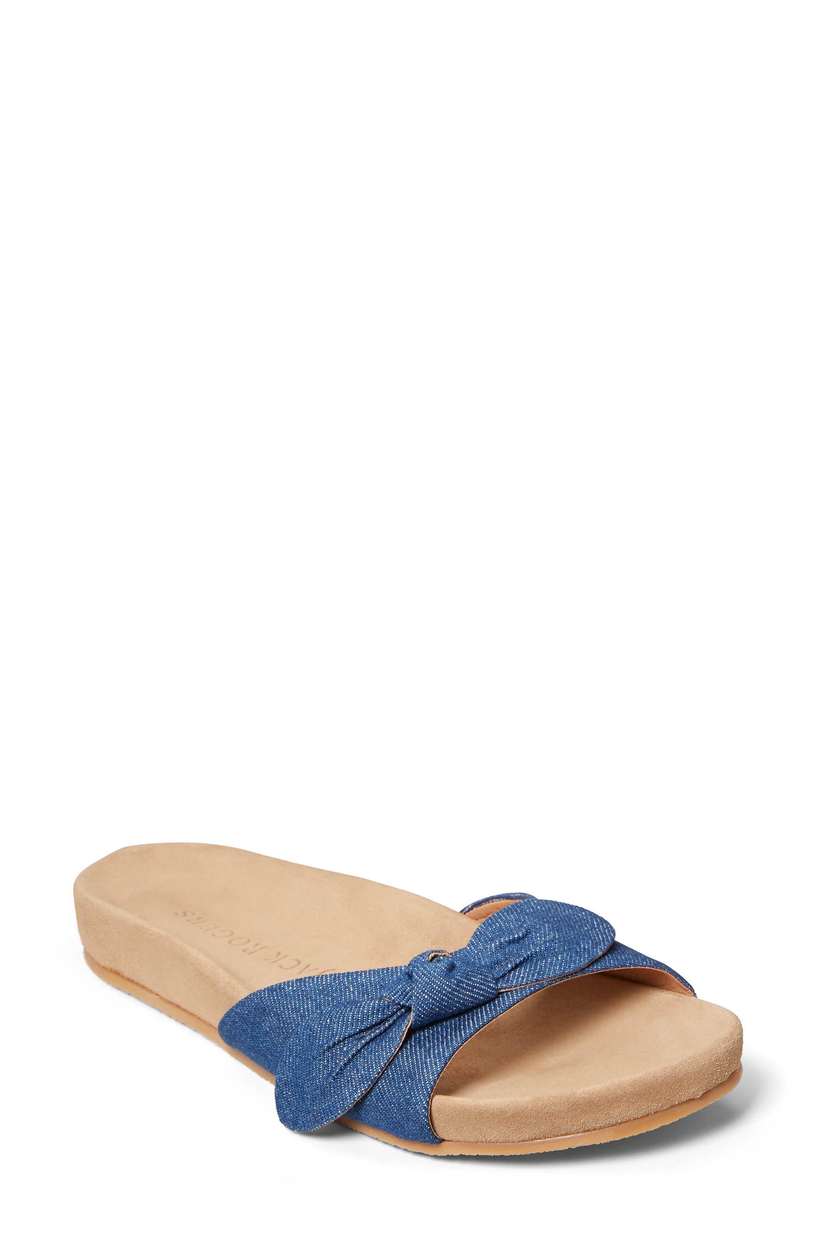 Dorothy Bow Slide Sandal