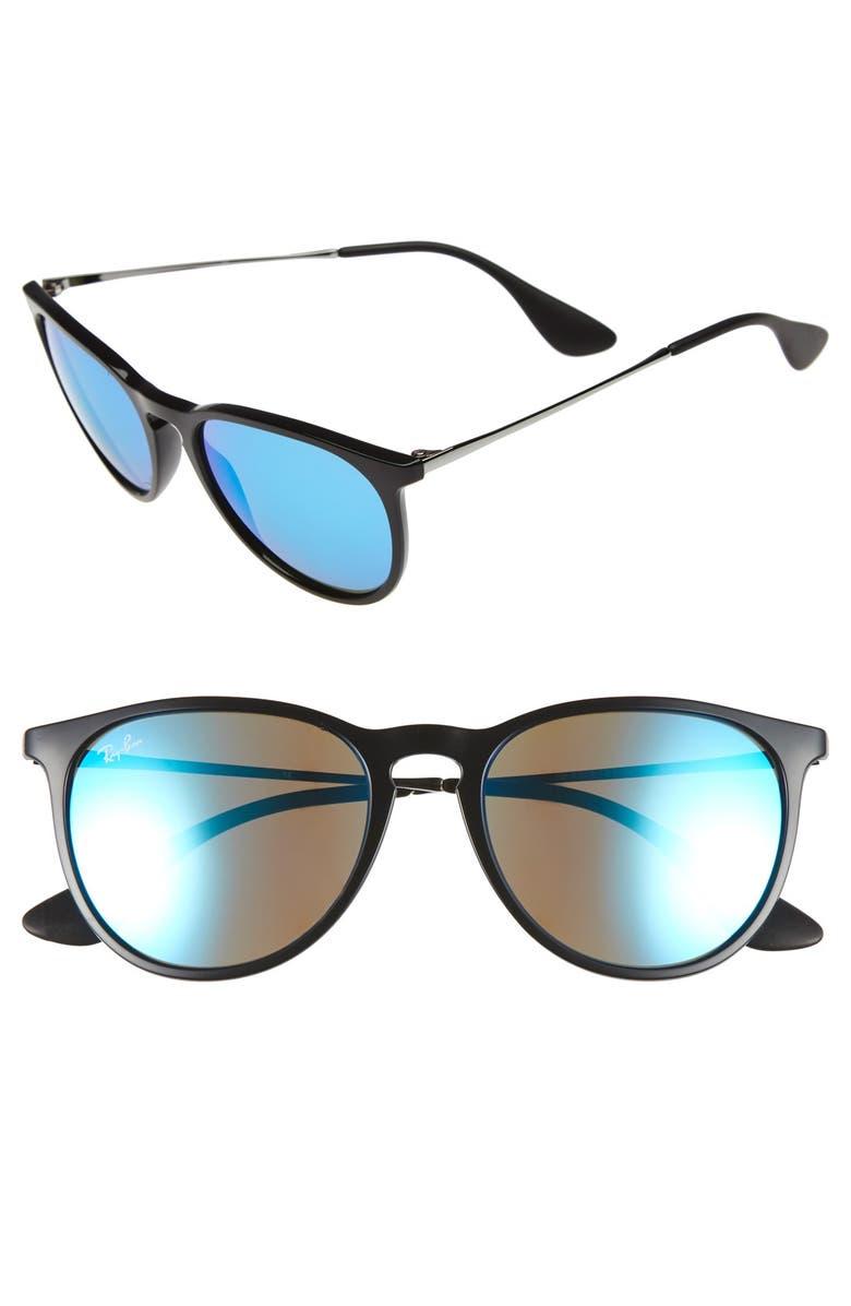 RAY-BAN 'Erika' 54mm Sunglasses, Main, color, 451