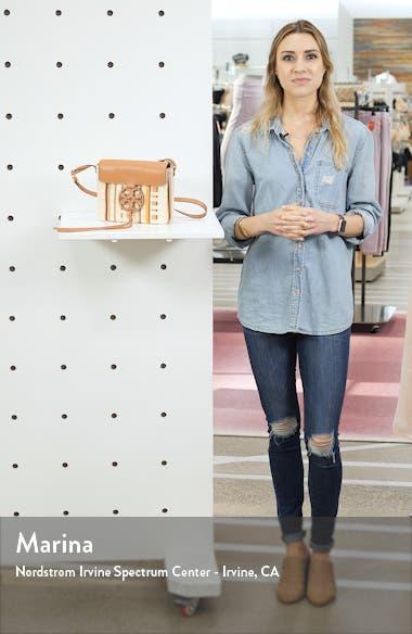 Miller Stripe Crossbody Bag, sales video thumbnail