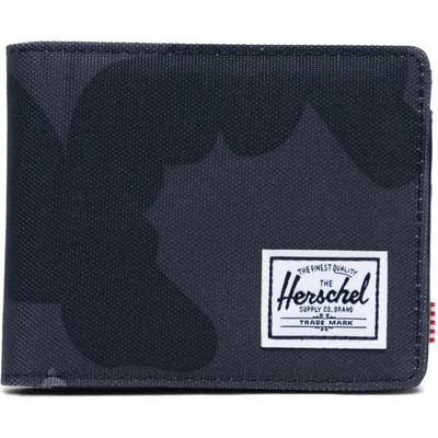 Herschel Supply Co. Hank Rfid Bifold Wallet - Grey