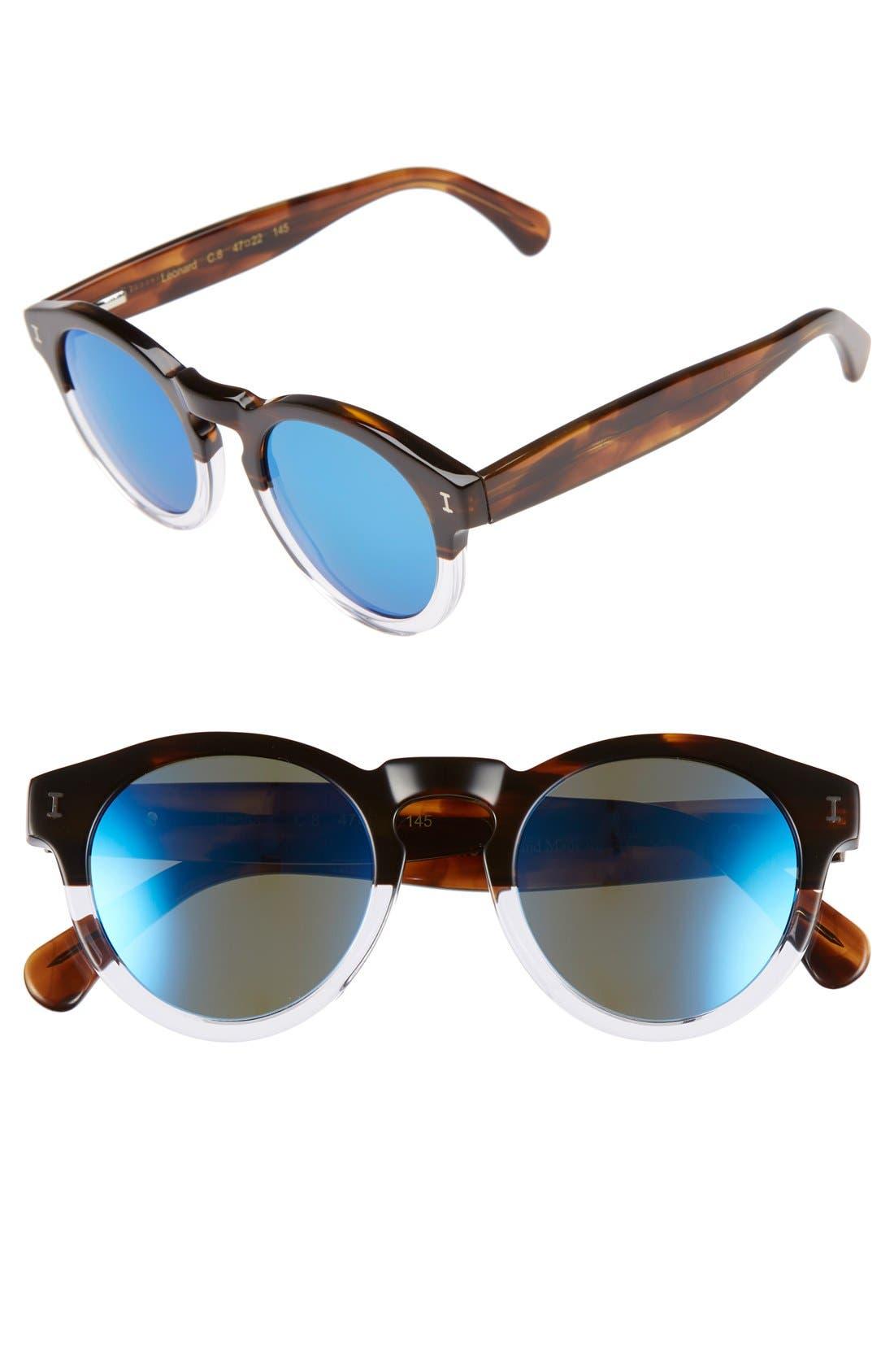 ,                             'Leonard' 47mm Sunglasses,                             Main thumbnail 87, color,                             210