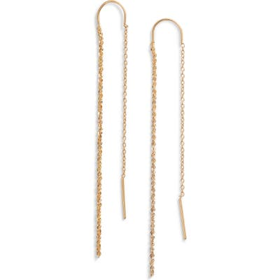 Jennifer Zeuner Astrid Bar Thread Through Earrings
