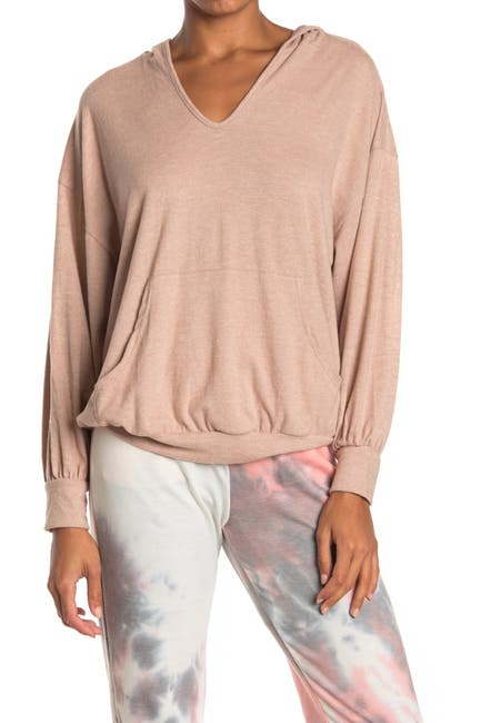 Image of Lush Hooded Pullover Tunic