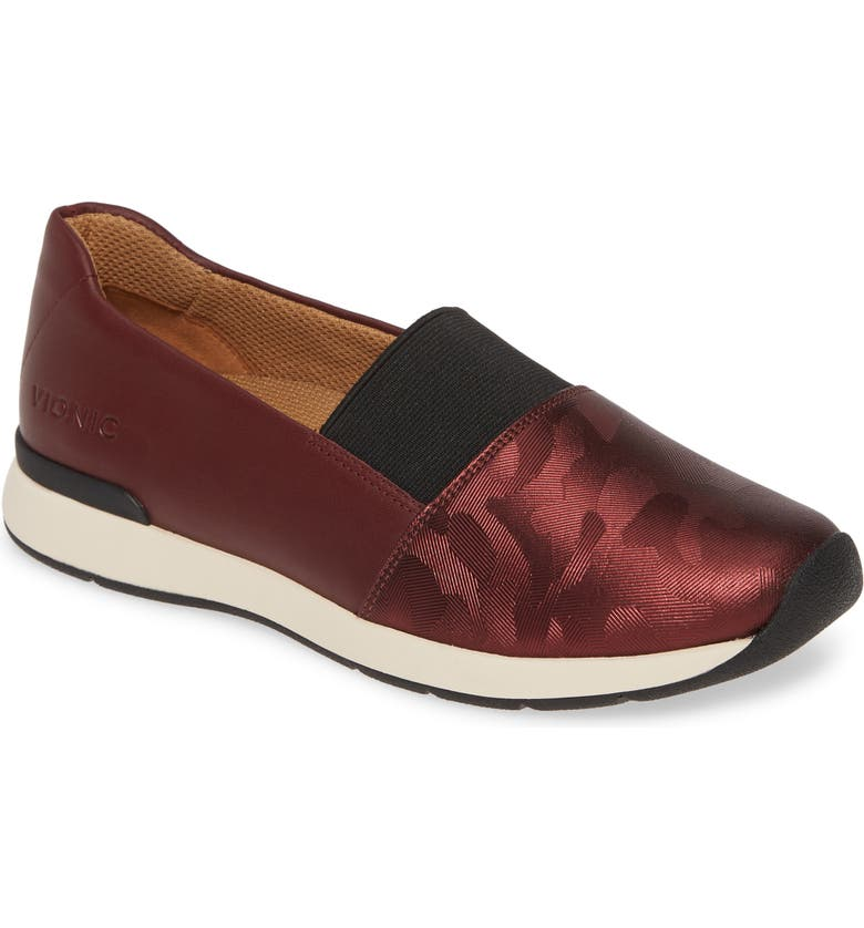 VIONIC Cameo Slip-On Shoe, Main, color, WINE LEATHER