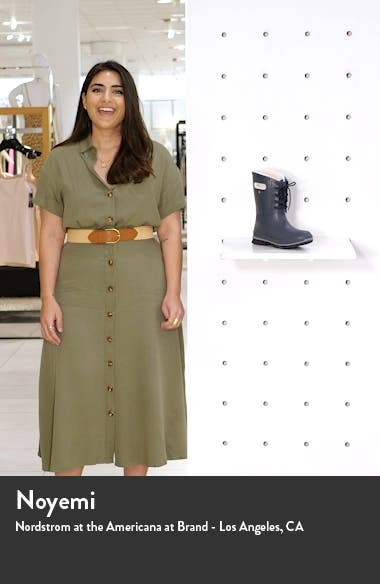 Amanda Plush Waterproof Rain Boot, sales video thumbnail