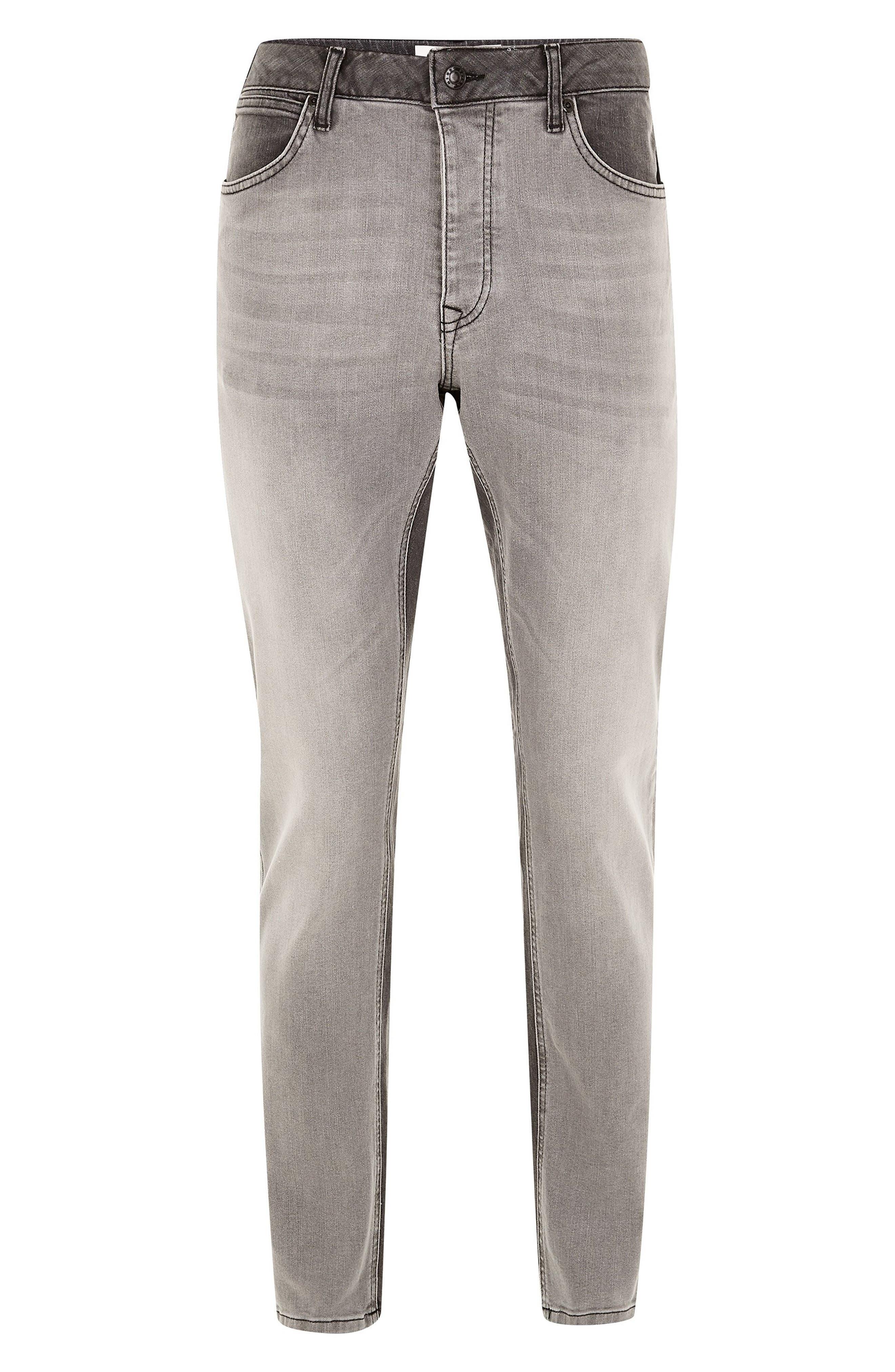 ,                             Slim Fit Panel Jeans,                             Alternate thumbnail 5, color,                             020