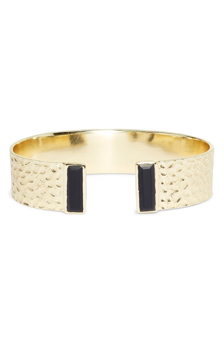 COLLECTIONS BY JOYA Cleo Cuff, Main, color, BLACK ONYX
