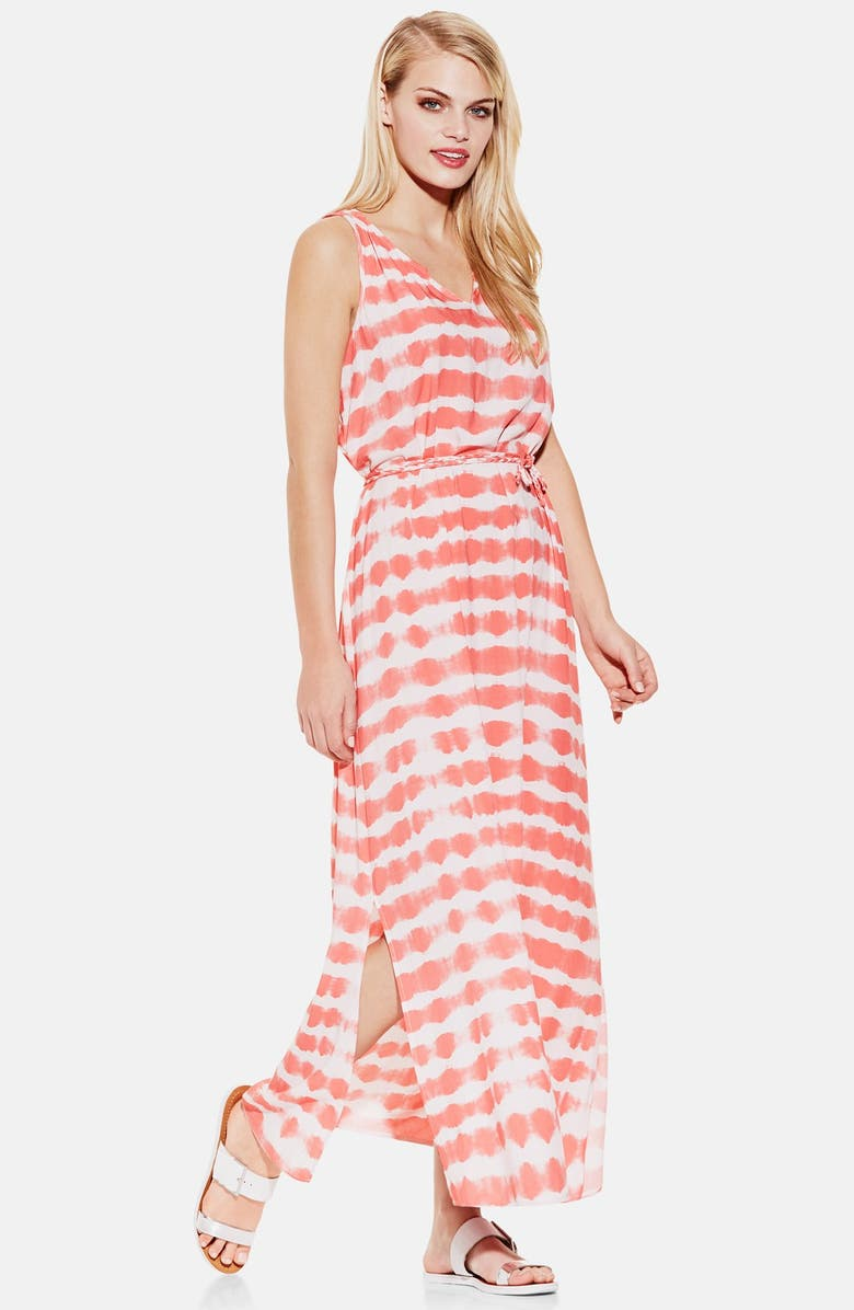 TWO BY VINCE CAMUTO 'Sunbaked Stripe' Sleeveless Maxi Dress, Main, color, 951