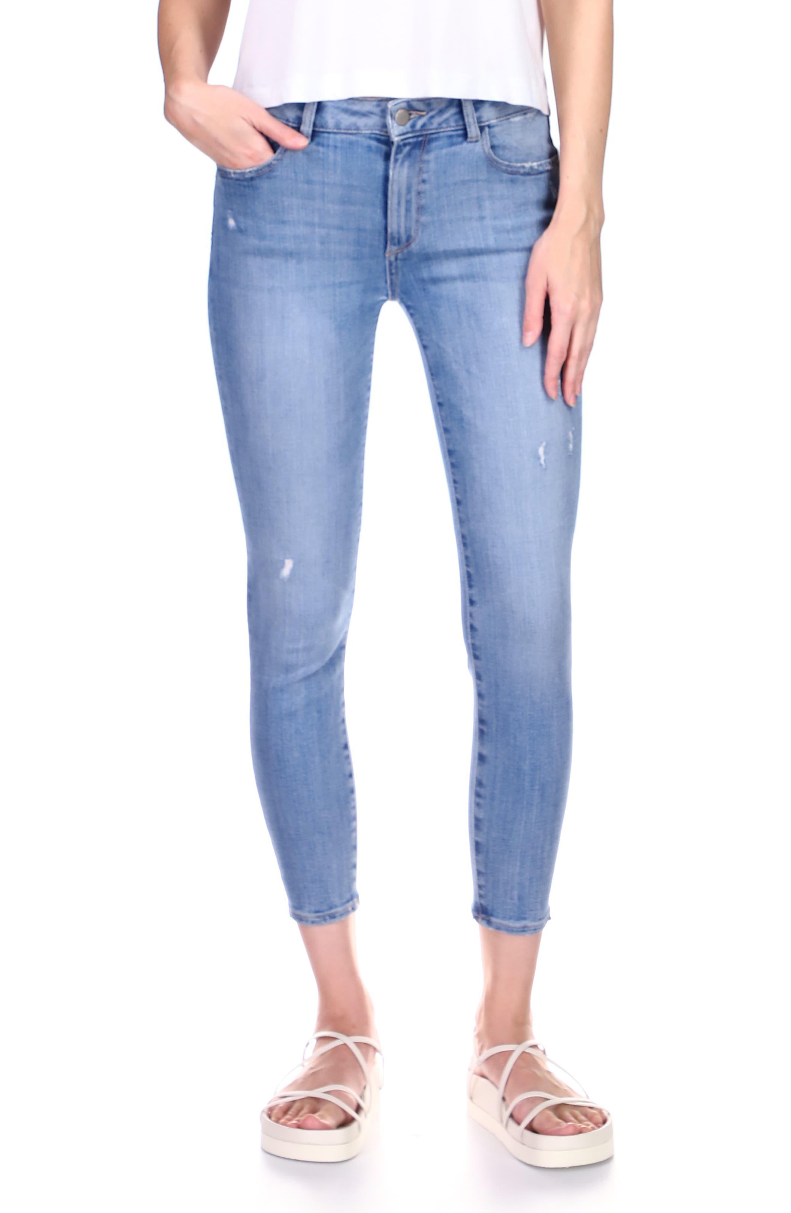1961 Florence Instasculpt Crop Skinny Jeans