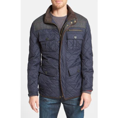 Vince Camuto Diamond Quilted Full Zip Jacket