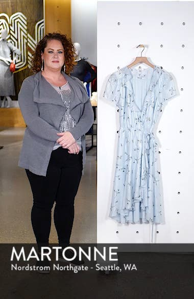 Sutton Wrap Dress, sales video thumbnail