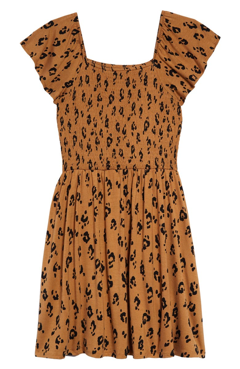 1901 Kids' Sunny Print Smock Dress, Main, color, 235