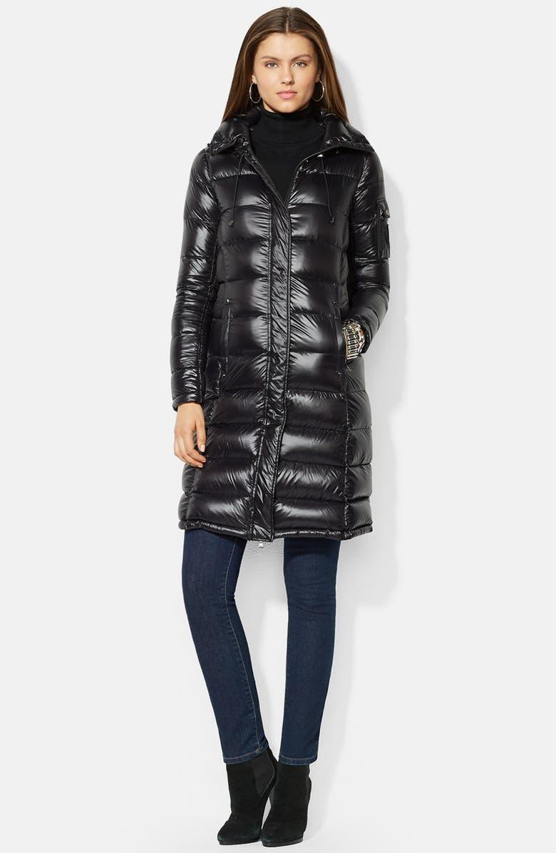 302ef610c Packable Down Coat with Detachable Hood