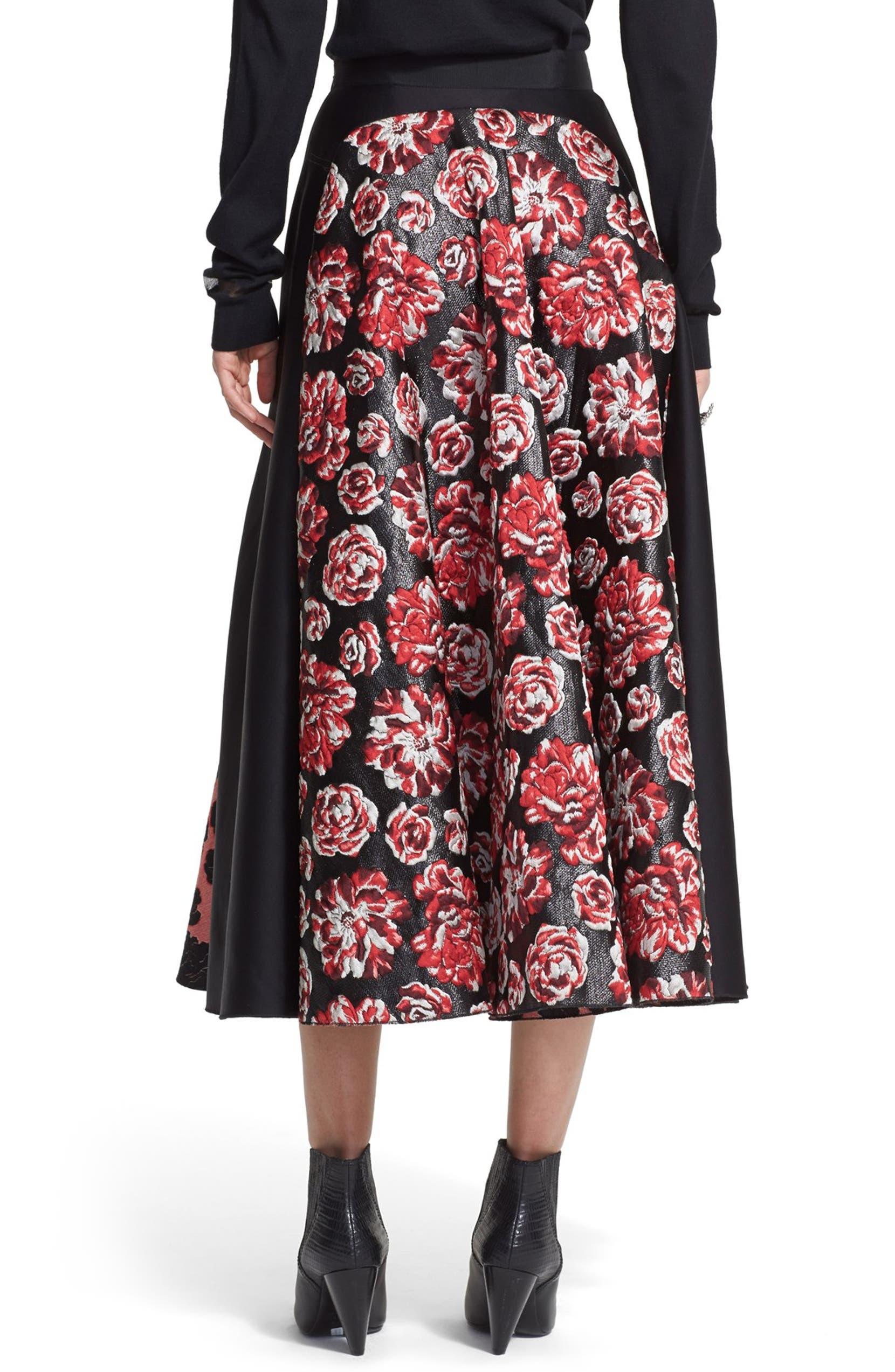 3eb62060a Lanvin Brocade A-Line Midi Skirt | Nordstrom