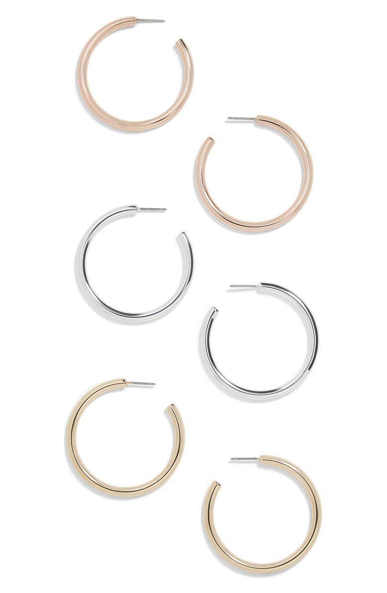2fe9067c3 BaubleBar Harley Set of 3 Hoop Earrings | Nordstrom
