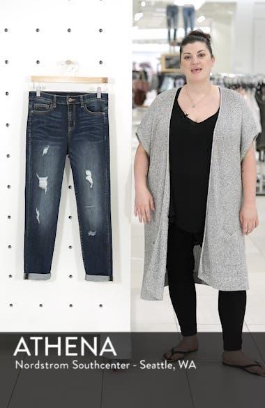 Distressed Boyfriend Crop Jeans, sales video thumbnail