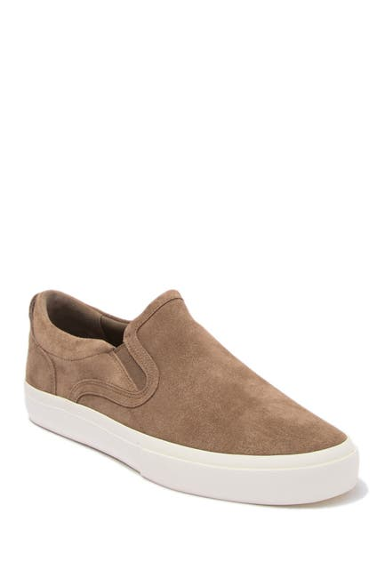 Image of Vince Fairfax Suede Slip-On Sneaker