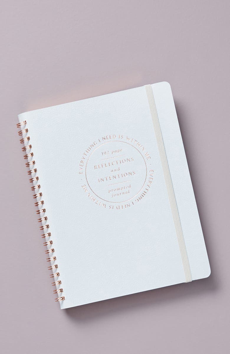 ANTHROPOLOGIE Reflections & Intentions Journal, Main, color, SKY