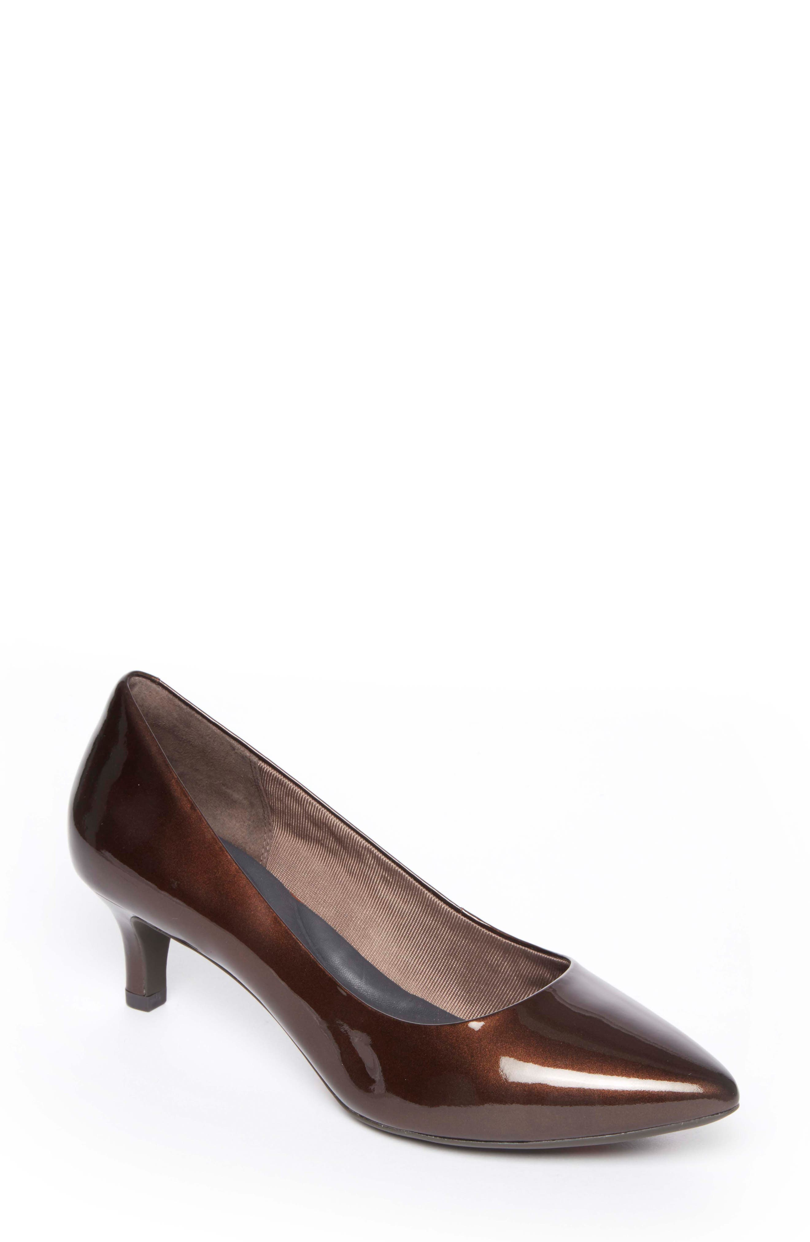 Rockport Kalila Luxe Pump W - Brown