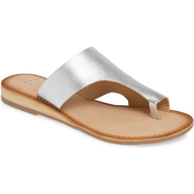 Coconuts By Matisse Whitney Slide Sandal, Metallic
