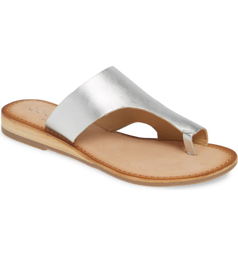 COCONUTS BY MATISSE Whitney Slide Sandal, Main, color, SILVER